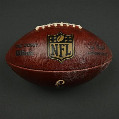 Game-Used Football Game-Used Football from January 1, 2017 vs. New