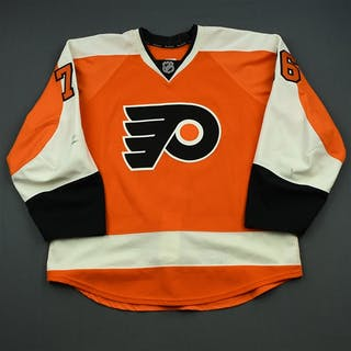 VandeVelde, Chris Orange Set 1 Philadelphia Flyers 2014-15 #76 Size: 56