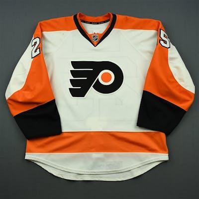 White, Ryan White Set 3 Philadelphia Flyers 2014-15 #25 Size: 54