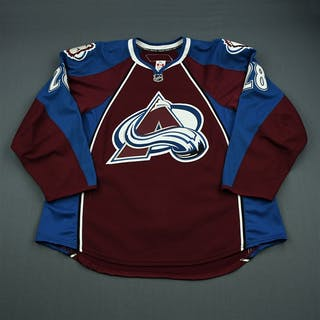 Koci, David Burgundy Set 3 Colorado Avalanche 2010-11 #28 Size: 58+
