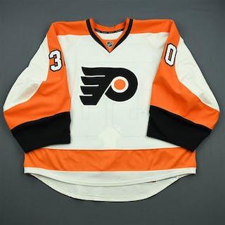 Bryzgalov, Ilya White Set 3 Playoffs Philadelphia Flyers 2011-12 #30 Size: 58G