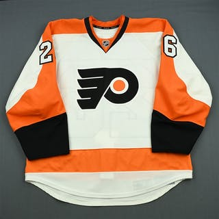 Gustafsson, Erik White Set 3 Playoffs Philadelphia Flyers 2011-12 #26 Size: 54