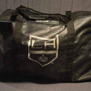Brown, Dustin Black Vinyl Equipment Bag Los Angeles Kings 2014-15