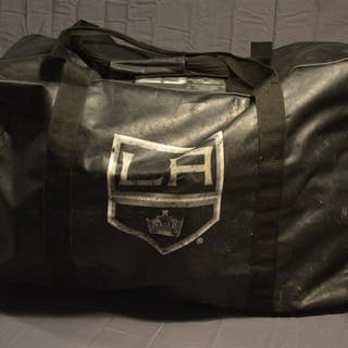 Clifford, Kyle Black Vinyl Equipment Bag, Stanley Cup-Winning Season