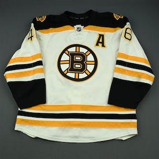 Krejci, David White Set 2 w/A Boston Bruins 2014-15 #46 Size: 56