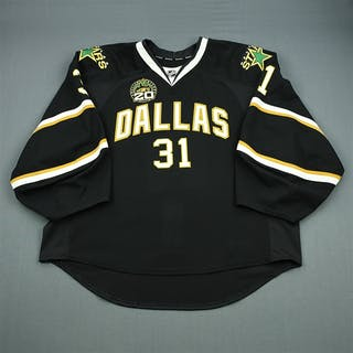 Bachman, Richard Black Set 2 w/ 20th Anniversary Patch Dallas Stars 2012-13 #31