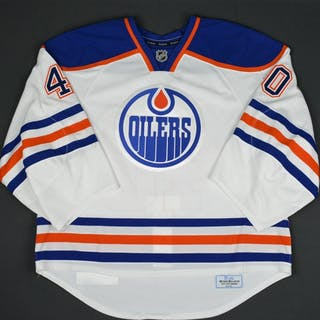 Bouchard, Keven White Set 1 - Training Camp Only Edmonton Oilers 2015-16