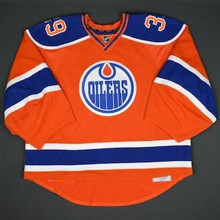 Nilsson, Anders Orange Set 2 - Game-Issued (GI) Edmonton Oilers 2015-16