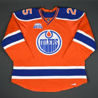 Nurse, Darnell Orange Set 2, w/ Rexall Place Farewell Season Patch