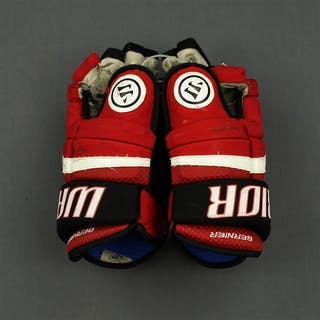 Bernier, Steve Warrior Covert Gloves New Jersey Devils 2013-15