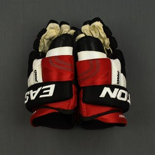 Cammalleri, Michael Easton Pro Gloves New Jersey Devils 2014-15