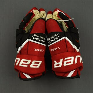 Carter, Ryan Bauer Vapor APX Gloves New Jersey Devils 2011-14