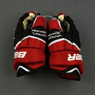 Greene, Andy Bauer Vapor X:60 Gloves New Jersey Devils 2010-11
