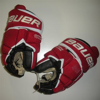 Greene, Andy Bauer Supreme TotalONE Gloves New Jersey Devils 2011-14