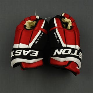 Gomez, Scott Easton Stealth Gloves New Jersey Devils 2014-15