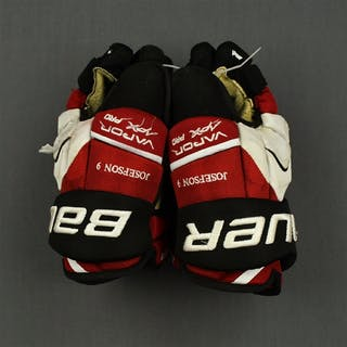 Josefson, Jacob Bauer Vapor APX Gloves New Jersey Devils 2014-15