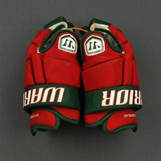 Zubrus, Danius Warrior Franchise Gloves (Retro Colors) New Jersey