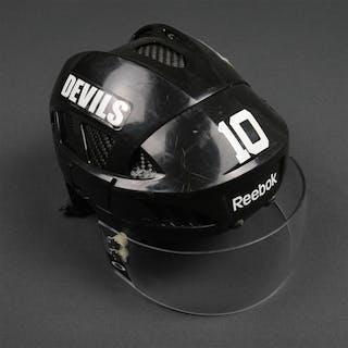 Harrold, Peter Black, Reebok Helmet w/ Oakley Shield New Jersey Devils 2012-14