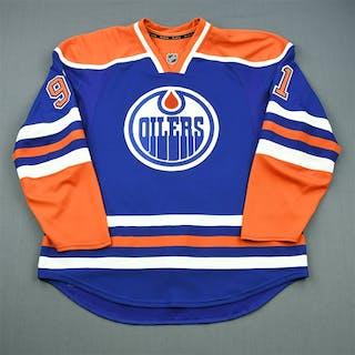 Paajarvi, Magnus Blue Retro Set 3 Edmonton Oilers 2011-12 #91 Size: 56