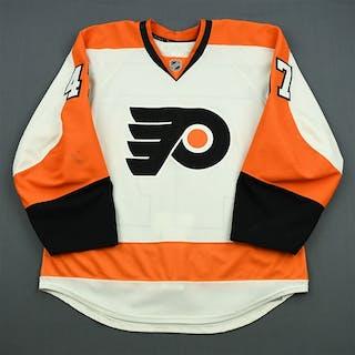 Wellwood, Eric White Set 1 Philadelphia Flyers 2011-12 #47 Size: 52