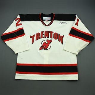 Nagy, Kory White Set 1 Trenton Devils 2010-11 #21 Size: 54