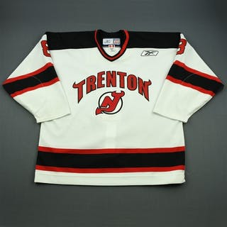 Nolet, Martin White Set 1 Trenton Devils 2010-11 #8 Size: 56