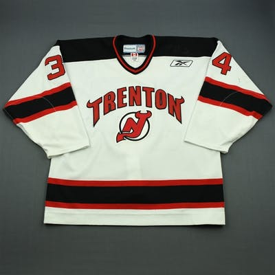 Prough, Jeff White Set 1 Trenton Devils 2010-11 #34 Size: 54