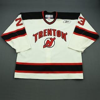 Vichorek, Taylor White Set 1 Trenton Devils 2010-11 #23 Size: 58