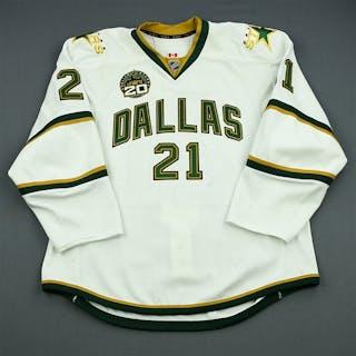 Eriksson, Loui White Set 2 w/ 20th Anniversary Patch Dallas Stars 2012-13 #21
