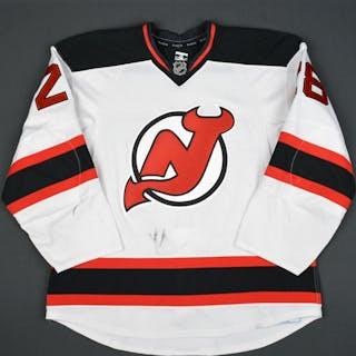 Severson, Damon White Set 2 New Jersey Devils 2015-16 #28 Size: 56
