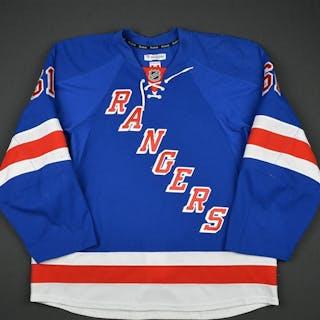 Nash, Rick * Blue Set 1- Photo-Matched New York Rangers 2014-15 #61 Size: 56