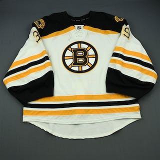 Smith, Jeremy White Set 1 - Back-Up Only Boston Bruins 2014-15 #39 Size: 58G