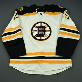 Talbot, Maxime White Set 2 Boston Bruins 2014-15 #25 Size: 56