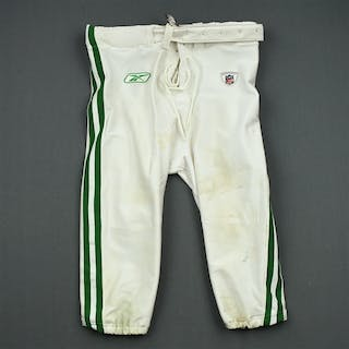 Dunlap, King 1960 White and Kelly Green Throwback Pants Philadelphia