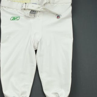 Jean-Gilles, Max 1960 White and Kelly Green Throwback Pants - Game-Issued