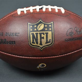 Game-Used Football Game-Used Football from September 24, 2015 vs.
