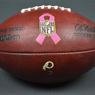 Game-Used Football Game-Used Football from October 4, 2015 vs. Philadelphia