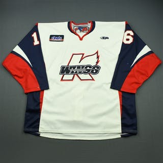 Charlebois, Joe White Set 1 Kalamazoo Wings 2010-11 #16 Size: 58