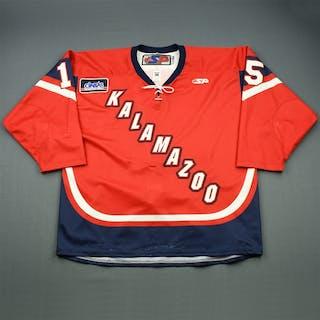 Jurynec, Bryan Red Set 1 Kalamazoo Wings 2010-11 #15 Size: 56