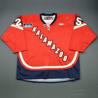 Syvret, Corey Red Set 1 Kalamazoo Wings 2010-11 #25 Size: 56