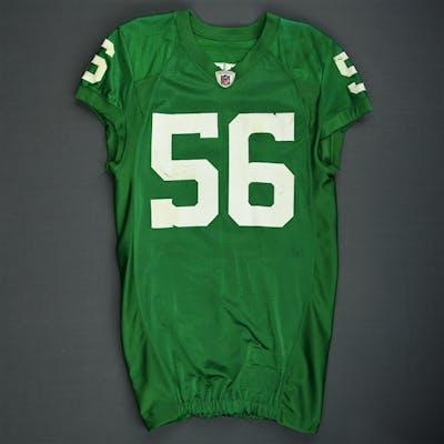 sale retailer ecbf0 c990d Jordan, Akeem 1960 Kelly Green Throwback Jersey Philadelphia ...