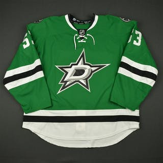 James, Cordell Green Set 1 - Game-Issued (GI) Dallas Stars 2016-17 #53 Size: 58
