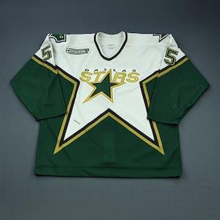 Bouck, Tyler * White Preseason Dallas Stars 2000-01 #55 Size: 56