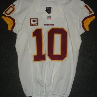 Griffin III, Robert White w/ Captain's C - Game-Issued (GI) Washington