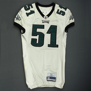 Mays, Joe White Philadelphia Eagles 2009 #51 Size: 48 LINE