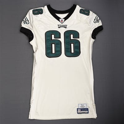 Reynolds, Dallas White - Preseason Philadelphia Eagles 2009 #66 Size: 52-O
