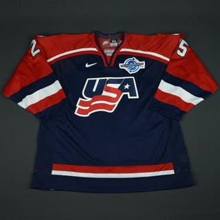 Gill, Hal * Blue, World Cup of Hockey, Game-Issued Team USA 2004 #25 Size: 58