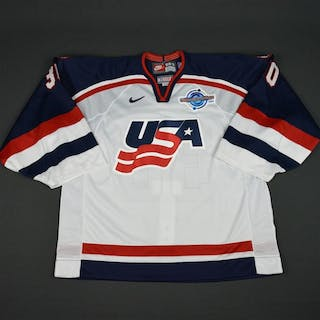 Conklin, Ty * White, World Cup of Hockey, Pre-Tournament Worn, Autographed