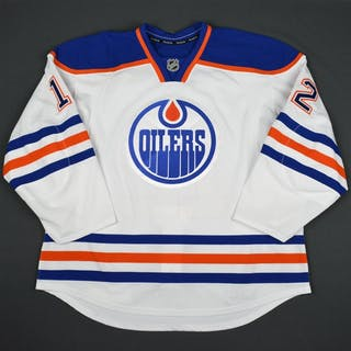 Klinkhammer, Rob White Set 1 Edmonton Oilers 2015-16 #12 Size: 58