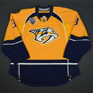 Jones, Seth Gold Set 1 - w/ All-Star Game Patch Nashville Predators